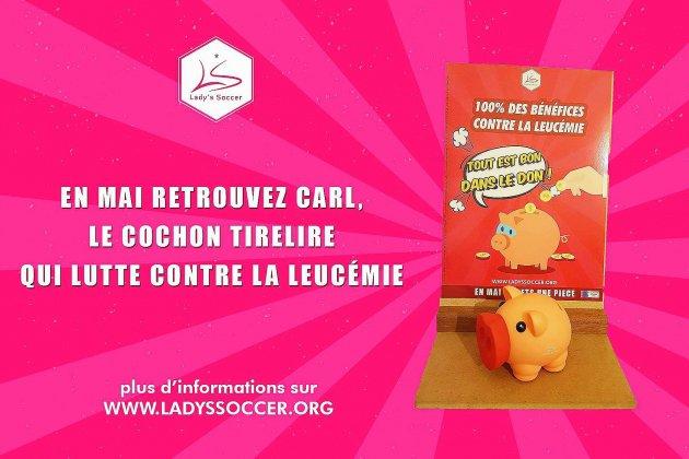 Le Lady's Soccerjoue collectif pour la lutte contre la leucémie