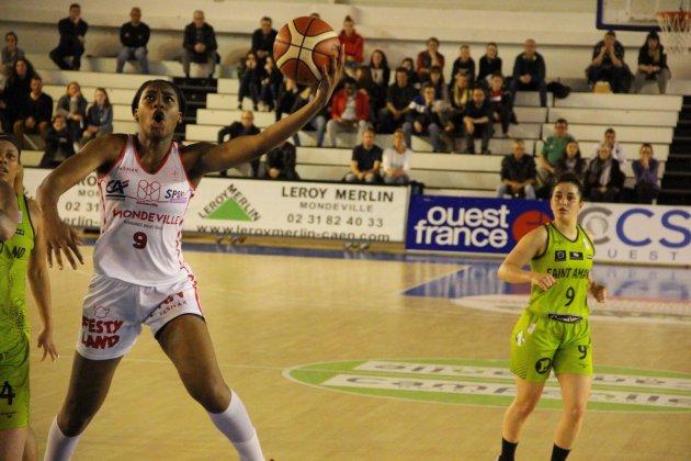 Basket (LFB): Mondeville bat le Hainaut et se rapproche du maintien