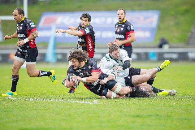 Rugby : les Lions de Rouen débutent les play-offs du bon pied