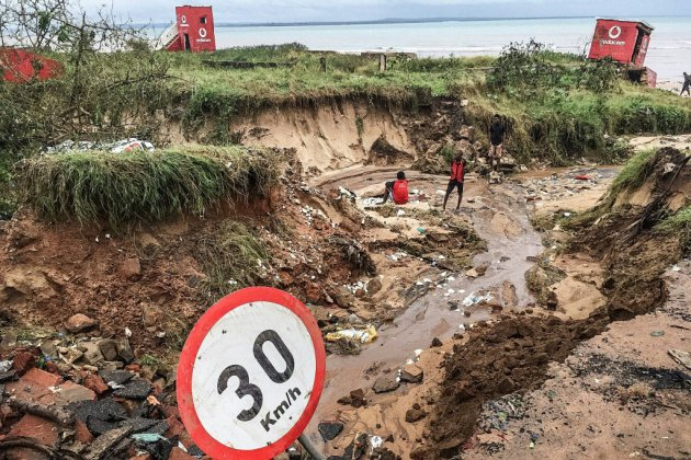 Le bilan du cyclone Kenneth monte à 38 morts dans le nord du Mozambique inondé