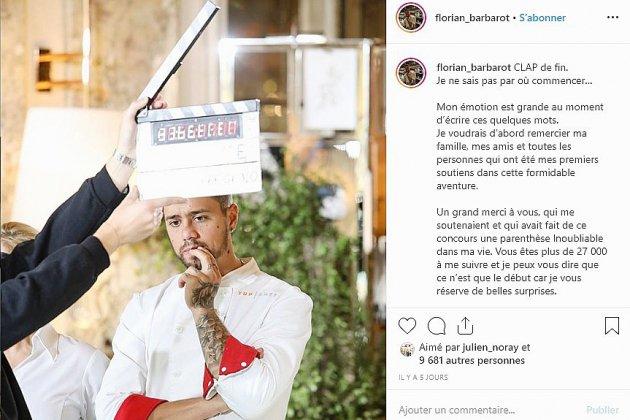 Top Chef : Florian Barbarot prépare un concept de fast food healthy pour les sportifs