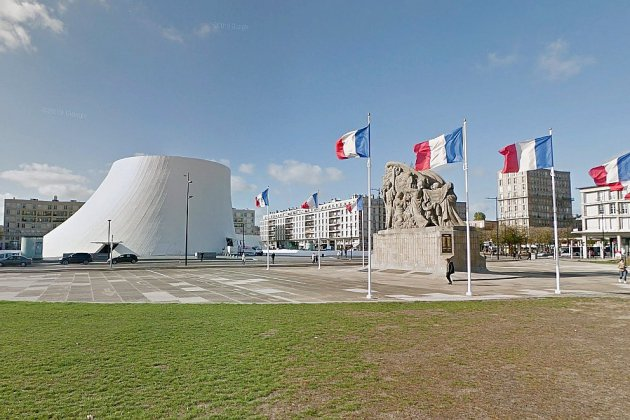 Le Havre: une stèle hommage à la guerre d'Algérie