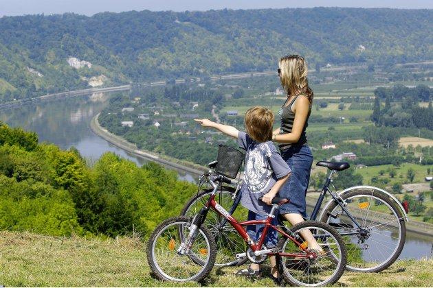Découvrir les boucles de la Seine à vélo, entre Elbeuf et le Havre
