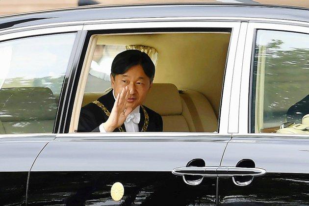 Japon: l'empereur Naruhito accède officiellement au trône