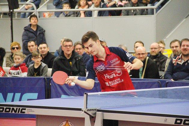 Tennis de table (Pro B): Le Caen TTC à un point de la Pro A