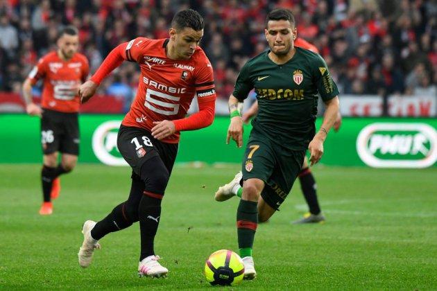 Ligue 1: Monaco sauve un point chez un Rennes émoussé