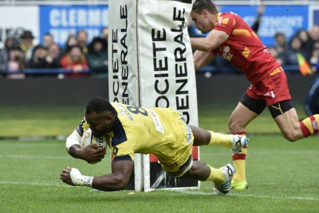 Top 14 - Clermont rejoint Toulouse en demi-finales