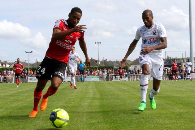Football (Ligue 1) : Caen bétonne un point et envoie quasiment Guingamp en Ligue 2