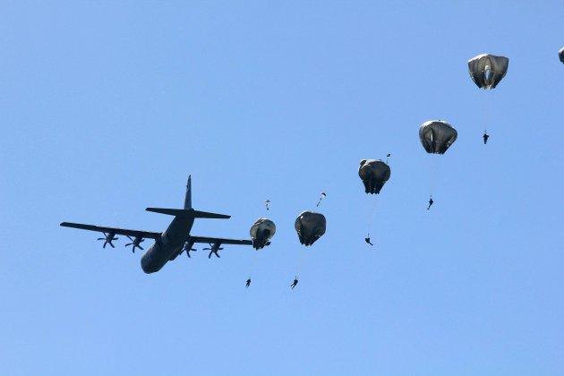 D-Day: 150 parachutistes américains au-dessus du Mont-Saint-Michel le 18 mai