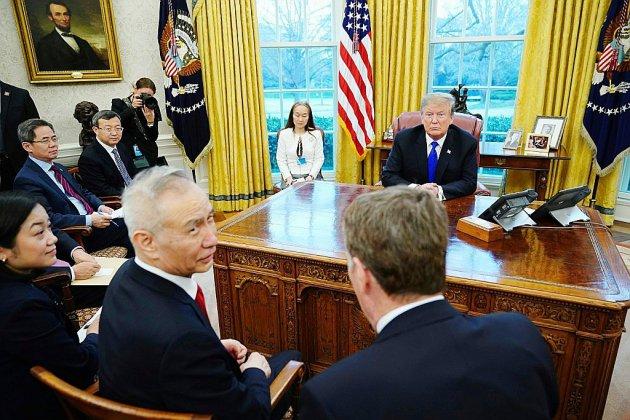 Commerce: Chinois et Américains vont reprendre langue, malgré les sanctions