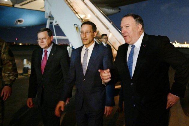 """Visite surprise de Pompeo à Bagdad pour contrer une """"escalade"""" de l'Iran"""