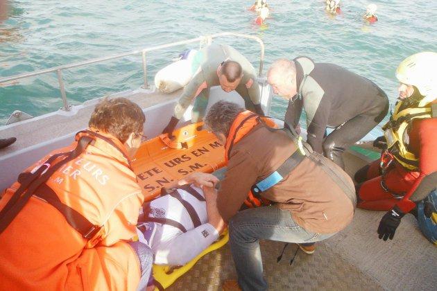 Calvados : le pronostic vital d'un homme engagé après un accident de kitesurf