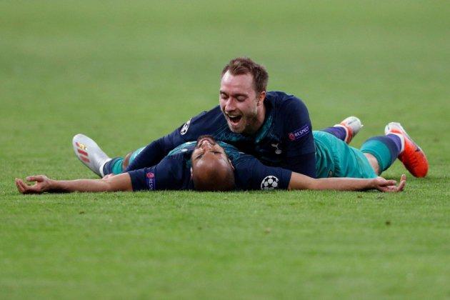 C1: Tottenham et Lucas brisent le rêve de l'Ajax pour décrocher leur première finale