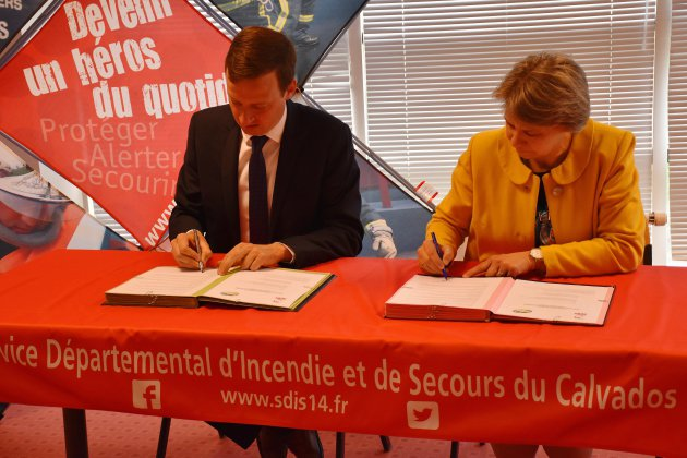 Deauville : de futurs pompiers volontaires au lycée Saint-Joseph