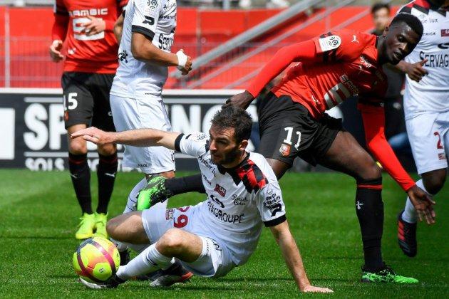 L1: Guingamp en L2 après un nul cruel à Rennes