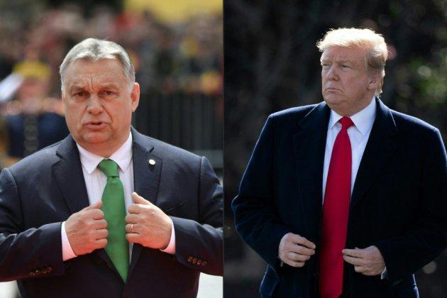 Trump reçoit le Hongrois Orban malgré les critiques
