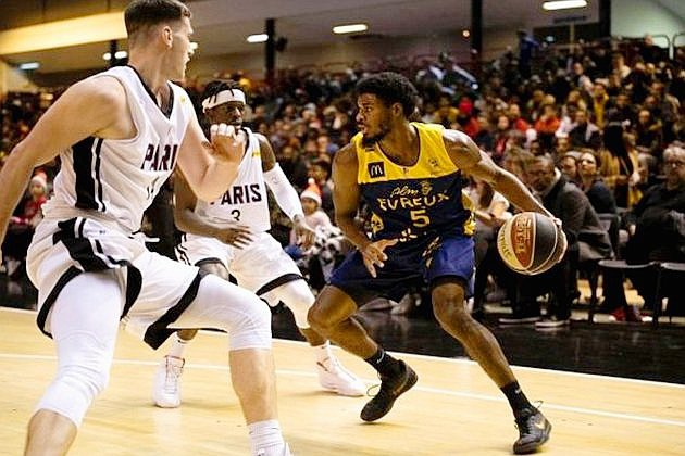 Basket: l'ALM Évreux s'impose contre Aix-Maurienne