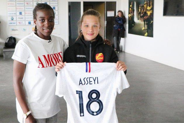 Coupe du Monde: Viviane Asseyi, un pur produit de l'agglo rouennaise