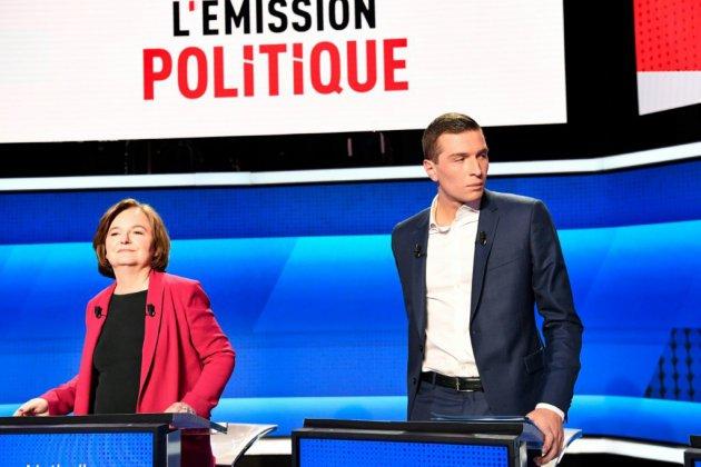 Européennes: Loiseau et Bardella, adversaires les yeux dans les yeux mercredi