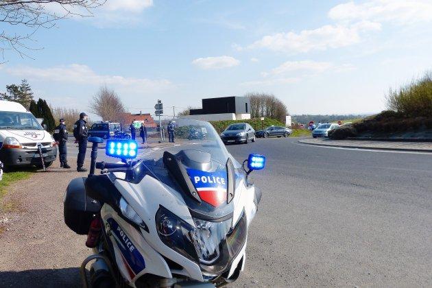 13 infractions relevées par la moto banalisée de la police à Cherbourg