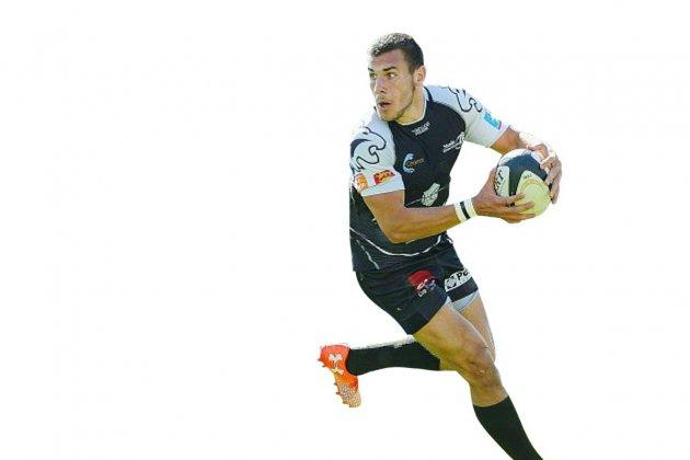 Gabin Villière, pépite du rugby normand