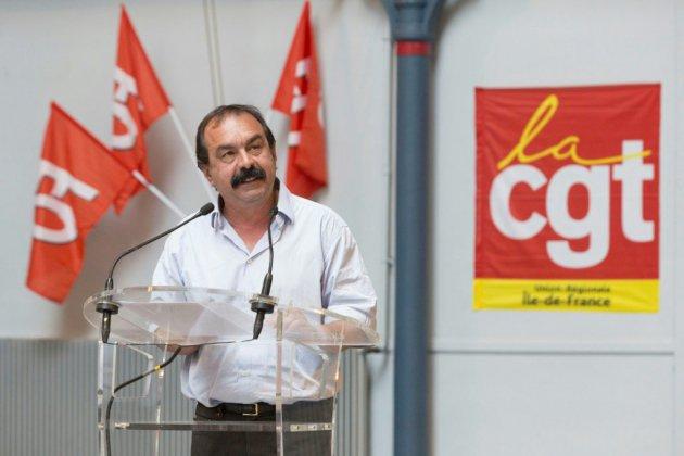 """Philippe Martinez réélu à la tête de CGT pour """"regagner"""" la première place"""