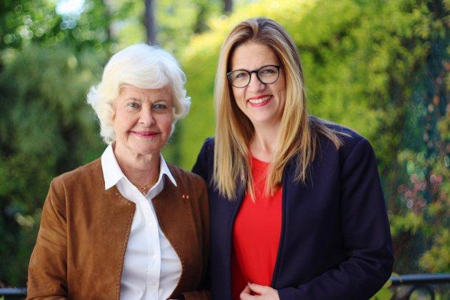 Européennes: Anne d'Ornano soutien Stéphanie Yon-Courtin (LREM)