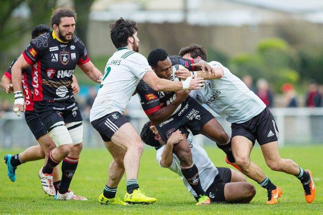 Rugby (Playoffs) : terrible soirée pour Rouen à Albi