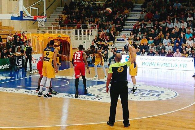 Basket (Pro B):Evreux s'incline contre Nancy