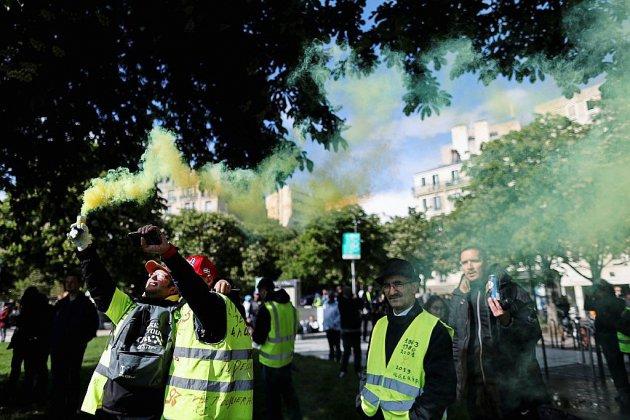 """Nouveau samedi de manifestations des """"gilets jaunes"""", mobilisés depuis six mois"""
