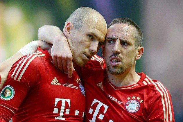 """Allemagne: la paire """"Robbéry"""" offre un 7e titre consécutif au Bayern"""