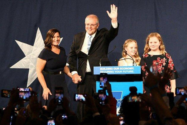 """Incertitude politique en Australie après le """"miracle"""" électoral de Morrison"""