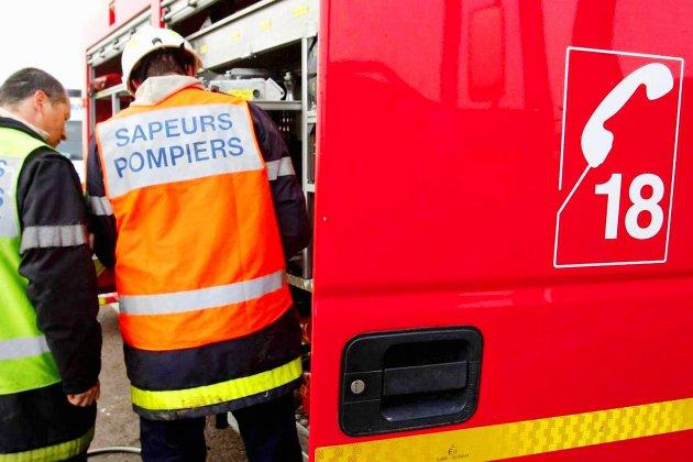 Quatre bâtiments touchés par un incendie à Forges-les-Eaux