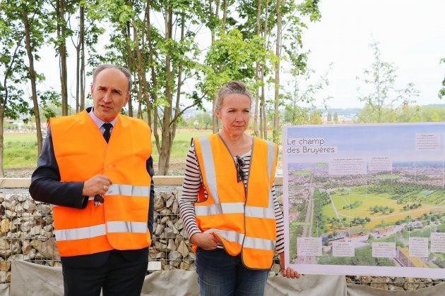 [photos] Les travaux du futur parc des Bruyères avancent à Rouen