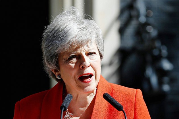 GB: La Première ministre Theresa May annonce sa démission