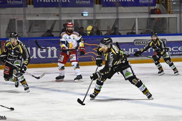 Hockey sur glace : Joris Bedin rempile chez les Dragons de Rouen