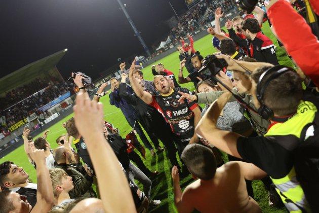 Historique et héroïque, le Rouen Normandie Rugby monte en Pro D2