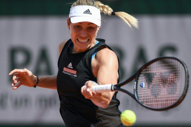 Roland-Garros: Angelique Kerber, N.5 mondiale, première éliminée de marque