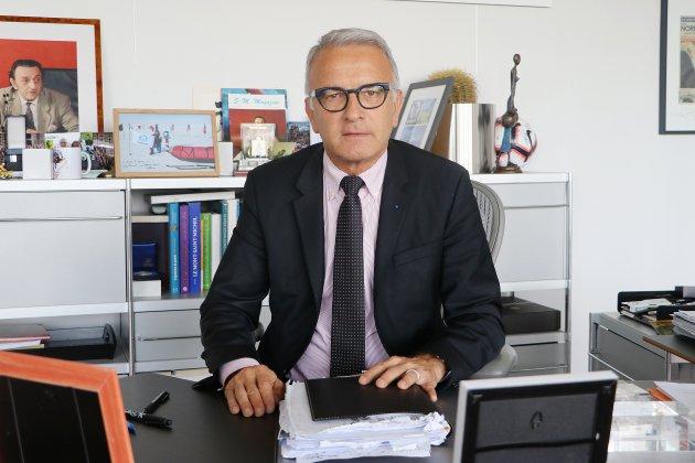 Pascal Martin évoque sa succession au Département de Seine-Maritime