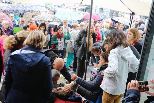 Grève de la faim: Jean-Paul Mousset hospitalisé
