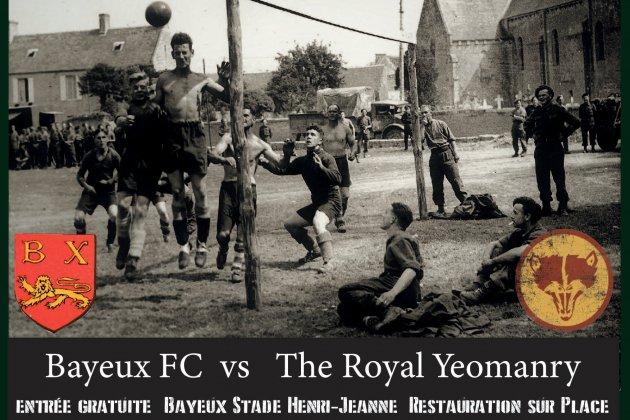 Le Bayeux FC rejoue l'Histoire pour le 75ème
