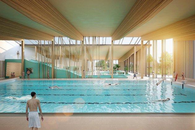 Plateau est de Rouen: la future piscine se dévoile!