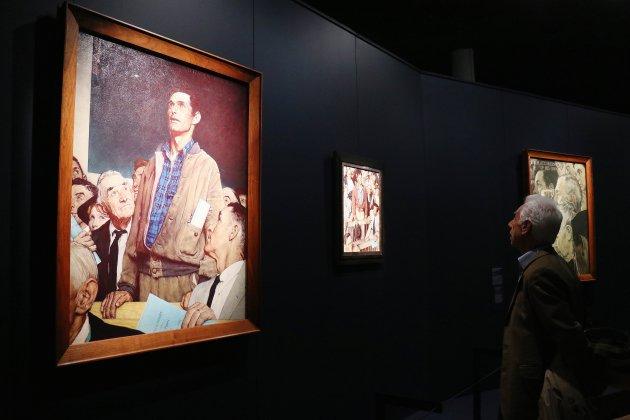 [Photos] Norman Rockwell à Caen: une exposition unique en Europe