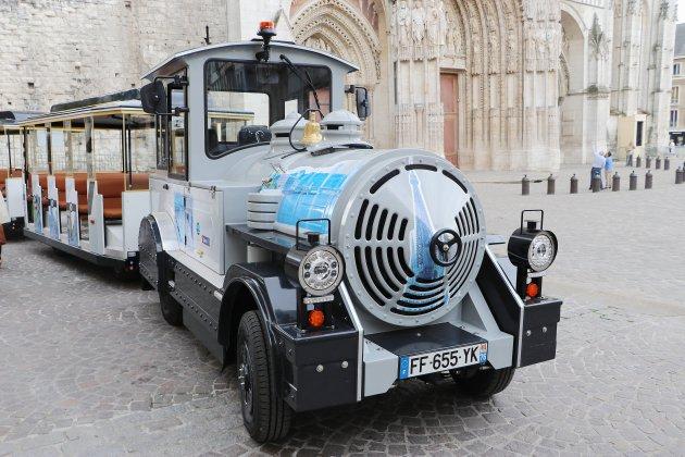 Rouen: un nouveau petit train touristique 100% électrique
