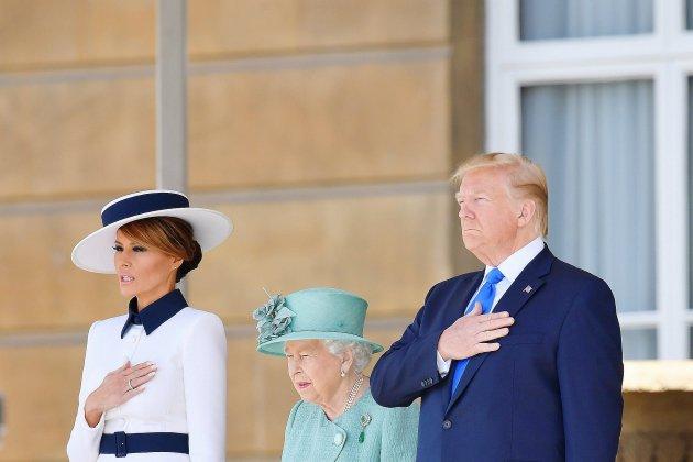 Trump à Londres attaque l'Union européenne