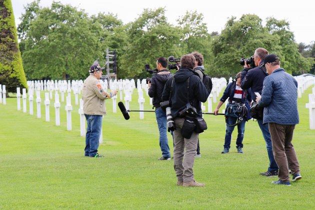 75e D-Day: plus de 350 journalistes du monde entier dans le Calvados
