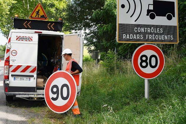 80 km/h: L'Assemblée vote la possibilité de relever la vitesse sur certaines routes