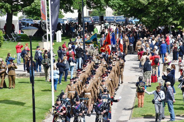 Caen a commémoré les victimes civiles et militaires du 6 juin 1944