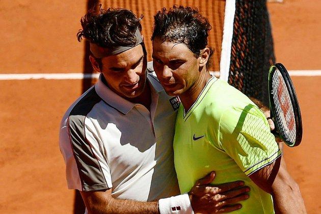 Roland-Garros: Federer emporté par Nadal et le vent