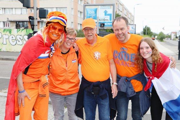 [Photos] Vague orange au Havre pour le match des Pays-Bas!